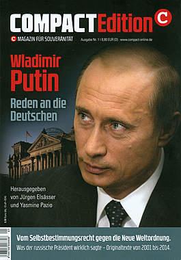 Compact Edition Ausgabe Nr.1: Wladimir Putin - Reden an die Deutschen_small