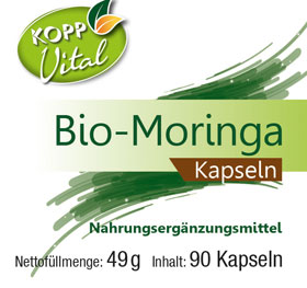 Kopp Vital Bio-Moringa, Kapseln - vegan_small01