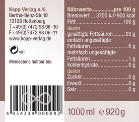 Kopp Vital Bio-Kokosöl 1000ml - vegan_small02