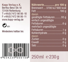 Kopp Vital Bio-Kokosöl 250ml - vegan_small02