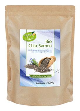 Kopp Vital Bio Chia-Samen 1 kg - vegan