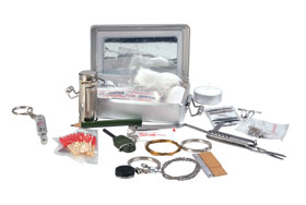 Mil-Tec® - Survival Kit in praktischer Alu-Box