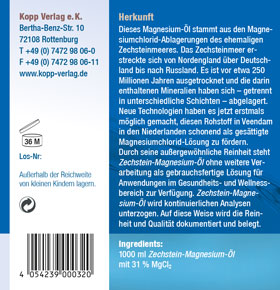 Kopp Vital Magnesium-Öl 100 % Zechstein 1000 ml - vegan_small02