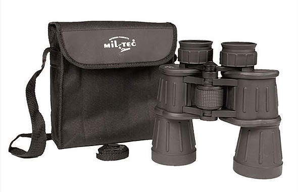 Mil-Tec® - Fernglas gummiarmiert 7x50 schwarz