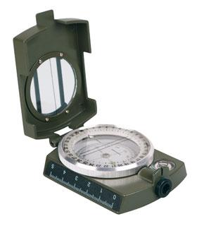 Armeekompass Metall mit Etui