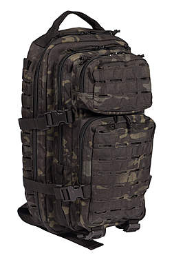 US Assault Pack Rucksack Laser Cut - klein_small