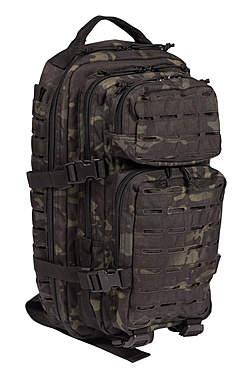 US Assault Pack Rucksack Laser Cut Multitarn 20 Liter_small