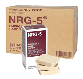 NRG-5 Emergency Food Notration