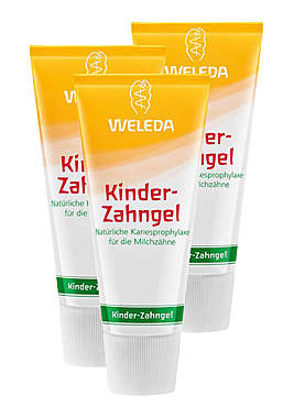 3er Pack Weleda Kinder-Zahngel, 50ml_small
