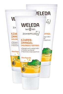 3er Pack Weleda Kinder-Zahngel, 50ml_small