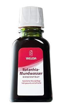 2er Pack Weleda Ratanhia Mundwasser