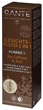 Sante Gesichtsfluid 2 in 1 Homme II mit Bio-Caffeine & Acai - 50ml