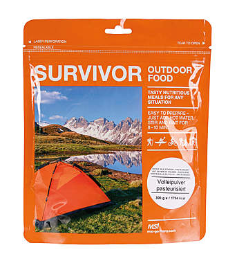 MSI Survivor Outdoor Food Volleipulver pasteurisiert