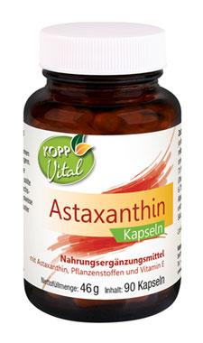 Kopp Vital Astaxanthin Kapseln - vegan