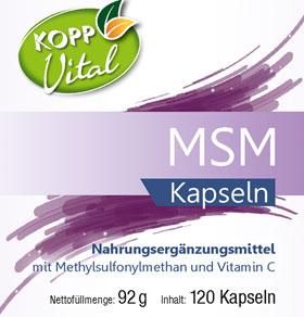 Kopp Vital MSM, Kapseln - vegan_small01