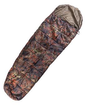 Schlafsack Commando mit Packsack - Flecktarn_small
