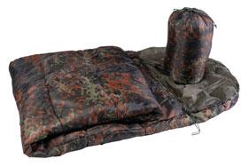 Schlafsack Commando mit Packsack - Flecktarn_small01