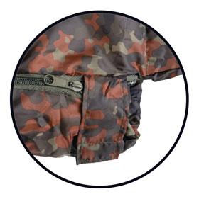 Schlafsack Commando mit Packsack_small02