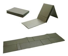 Isomatte faltbar 190x60x0,5 cm oliv_small