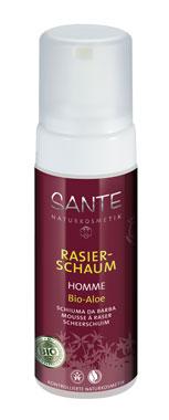 2er Pack Sante Rasierschaum Homme mit Bio-Aloe