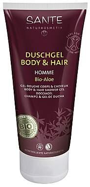 Sante Duschgel Body & Hair Homme mit Bio-Aloe 200ml
