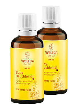 2er Pack Weleda Baby Bäuchleinöl - 50ml_small