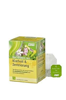 2er Pack Salus Bachblüten Tee Klarheit & Zentrierung - Bio
