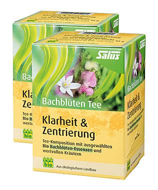 2er Pack Salus Bachblüten Tee Klarheit & Zentrierung - Bio_small