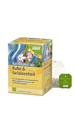 2er Pack Salus Bachblüten Tee Ruhe & Gelassenheit - Bio