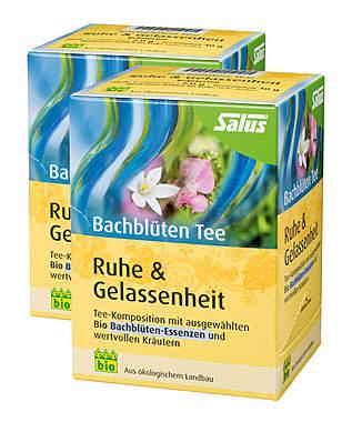 2er Pack Salus Bachblüten Tee Ruhe & Gelassenheit - Bio_small