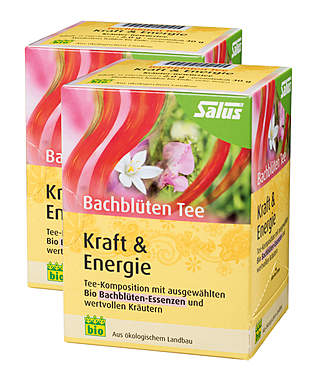 2er Pack Salus Bachblüten Tee Kraft & Energie - Bio_small