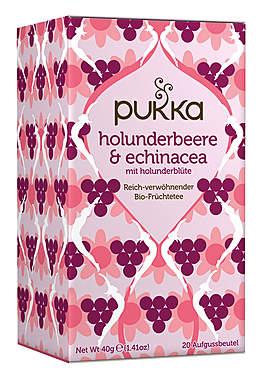 Pukka Holunderbeere & Echinacea Früchtetee
