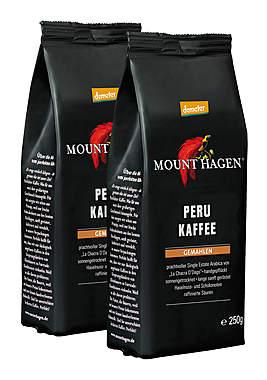 2er Pack Mount Hagen Peru Kaffee - gemahlen - Demeter