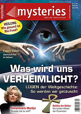 Mysteries -Ausgabe Nr. 1 Januar/Februar 2016_small