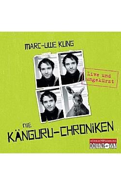Die Känguru-Chroniken, 4 Audio CDs - Hörbuch