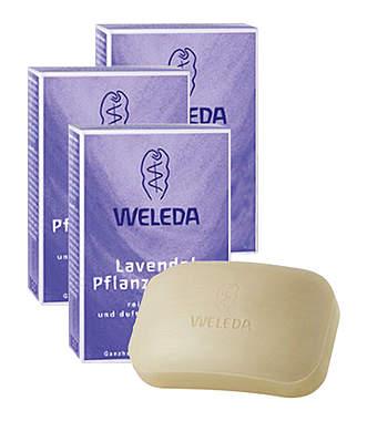 3er Pack Weleda Lavendel Pflanzenseife