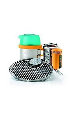 BioLite Bundle CampStove Portable Grill & KettlePot, FlexLight - Stromerzeugung