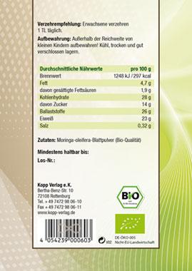 Kopp Vital Bio Moringa Pulver - vegan_small02