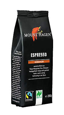 2er Pack Mount Hagen BIO Espresso gemahlen - 250g