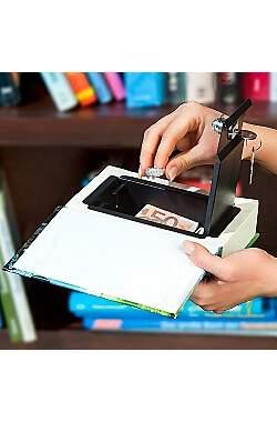 Buchsafe Geldversteck Modell Sachbuch Wein mit echten Papierseiten_small01