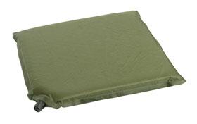 Sitzmatte selbstaufblasend - oliv
