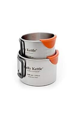 Kelly Kettle Campingbecher Set - 350ml und 500ml_small01