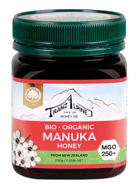 Bio Manuka-Honig aus Neuseeland (MGO 250+)