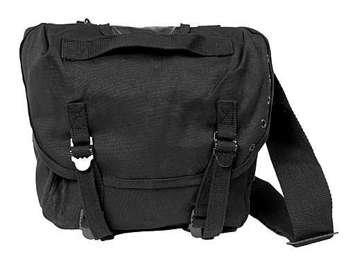 US Packtasche M67 mit Gurt - schwarz_small
