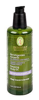 PRIMAVERA® Beruhigendes Körperöl Lavendel Vanille 100ml_small