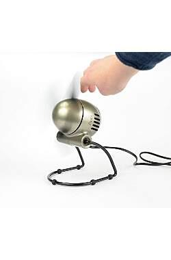 Reise - Ventilator Vornado Zippi silber