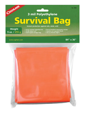 Coghlans Survival Bag_small01