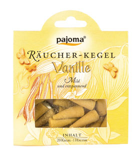 Pajoma Räucher-Kegel Vanille_small