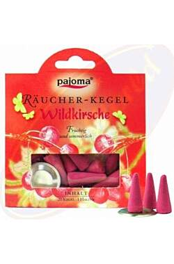 Pajoma Räucher-Kegel Wildkirsche_small