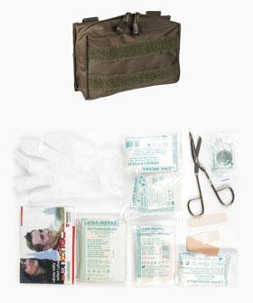 Erste Hilfe Set Leina Pro 25 teilig - oliv - Made in Germany_small